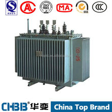 3 phase 11kv outdoor type 500KVA oil immersed transformer