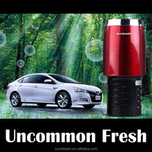 New organic car air freshener and ionisator room air cleaner