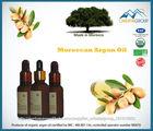 Orgânica, puro óleo de argan 30 ml/1 fl oz com conta-gotas