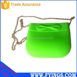 colorful fashion rubber Silicone handbags wholesale hot