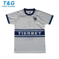 Sublimation sport jersey t shirt made in china