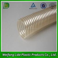 PVC Stainless Conveying Milk Wine Beer Jam Beverage Spiral Steel Wire Reinforced Hose