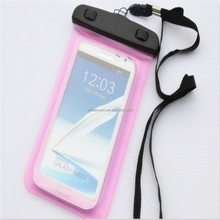 Smart mobile phone waterproof bag waterproof bag for samsung mobile phone