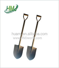 Different color carbon steel shovel tools overstocks from factory