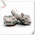 zapatillas de felpa suave de la teoría gatito de peluche zapatillas