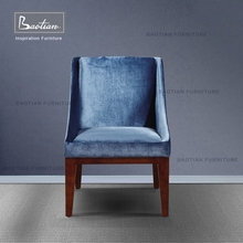 Modern design Foshan Furniture fabric hotel dinning chair