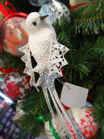 Christmas Decorations Artificial Polyfoam Lucky Bird For Christmas Tree