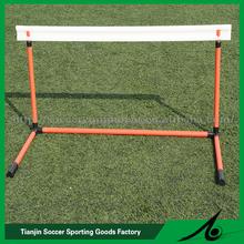 Mini soccer training hurdle