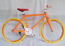 colour Cheap steel fixie bike on sale factory produce