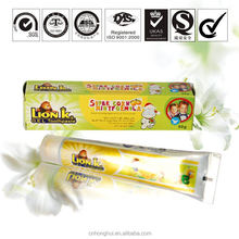 50g OEM cool toothpaste with lemon flavor