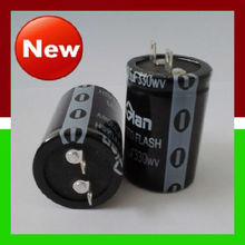 Electronic Component High Quality Lug Mount Terminal 330WV 500UF 25*50mm Photo Studio Flash Aluminum Capacitor