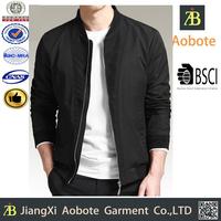 Cheap Black Man Custom Cotton Varsity Jackets