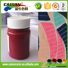 CTH-1182 Reliable quality pigment screen printing on cloth
