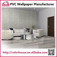 Usine vinyle adhésif mur papier décoratif pour le ménage