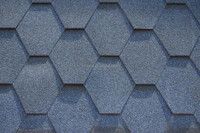 Fiber glass raw material hexagon asphalt shingle sale