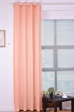 Classic crushed style sheer curtain