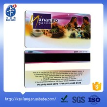 hot sale new products offset printing plastic sample membership card