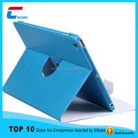 2015 Ultra thin 360 rotate PU leather case for ipad mini .new arrival product for ipad mini leather case with your custom design