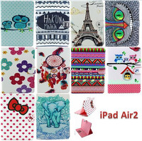 Free Sample 2015 tablet cover for ipad air 2 leather case