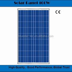 BCT High quality 12V 100W poly solar module