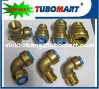 LEAD FREE Brass Push in fittings C46500 for copper pipe