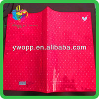 Yiwu beautiful Soft Pvc Book Cover for school boys