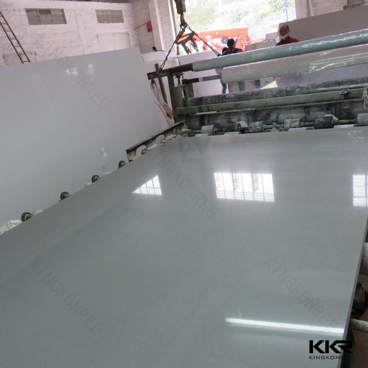 30 미리메터 흰색 유리 인공 석영 돌 건설 재료-인공 스톤 -상품 ID ...