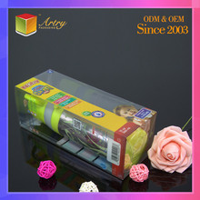 Personalized Custom Cube Folding Plastic Clear Package Box