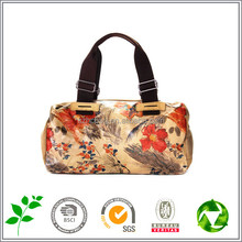 Fashion printing painting tote bag leisure simple canvas handbag