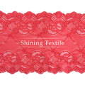 17-19cm bom alongamento 90% nylon 10% elastano rendas para lingerie