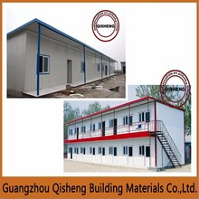Safe workers temporary prefab house/Low cost prefabricated home