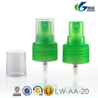 China Factory Yuyao Longway Professional mist sprayer pump for personal care