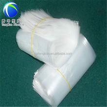 high load-bearing white poly transparent plastic shopping bag
