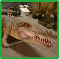 waterproof material remote control crocodile,theme park attraction