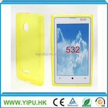 Hot sale made in china sublimaton tpu case for nokia lumia 532, tpu phone case