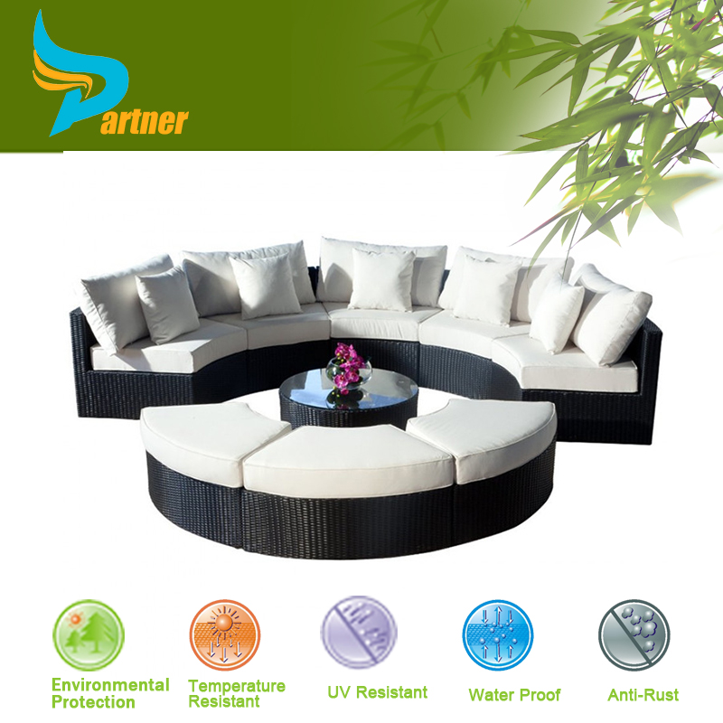 Wilson And Fisher Patio Furniture Fashion Hotel Pvc Wicker Rattan Sofa Set Ha