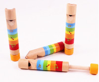 Musical Instrument Wooden Slide Whistle