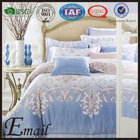 Luxury indian brocade 100% silk bedspread/bedding set