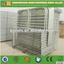 Galvanized sheet metal farm gates