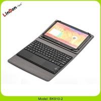 Hot sale 10 tablet case keyboard, 9.7 tablet pc leather case bluetooth keyboard, leather case & keyboard for 10.2