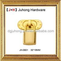 Fashion handbag decorative lock and key