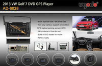wholesale auto parts for VW Golf mk7 stereo with built in DVD GPS radio bluetooth USB IPOD TV