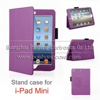 Tablet PC foldable leather cover case for ipad