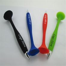 2015 fashion soft pvc rubber silicone fridge magnet pen