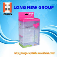 E Custom Plastic cosmetics packaging containers blister varnish