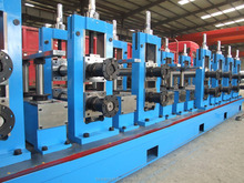 CR/HR Carbon Steel Pipe Mill ERW Pipe Machine for threading rolling