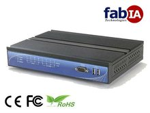 1U Embedded PC for PC station Router (FX5622)