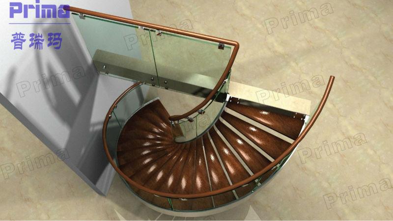 Außen oder innen kleinen raum treppen design, glass spiral treppen ...
