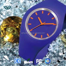 2015 new silicone quartz movement watch