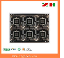 Immersion gold plating electronic circuit board manufacturer in china